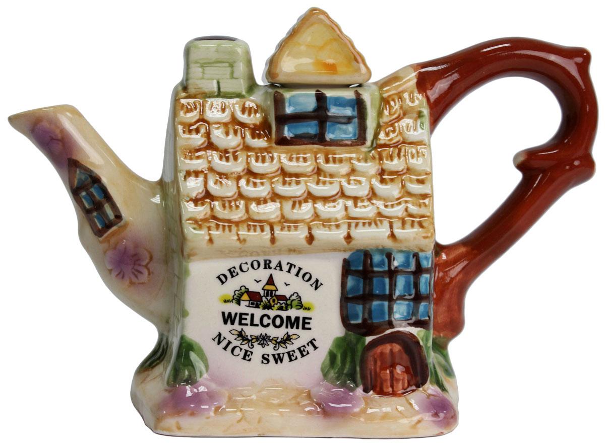 Чайник заварочный Домики, 300 мл. 824682115510Этот великолепный чайник станет настоящим украшением любого стола. Послужит отличный подарком! Объем чайника 300 мл
