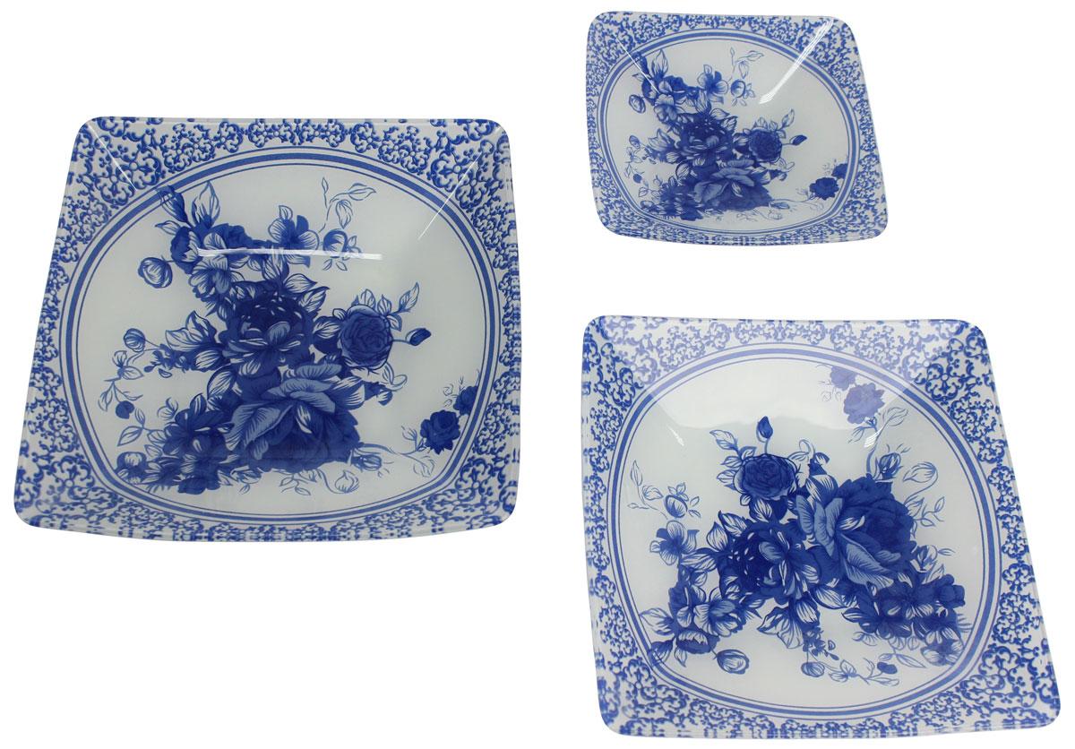 Набор салатников Vetta Гжельские мотивы, 3 предмета. 830254