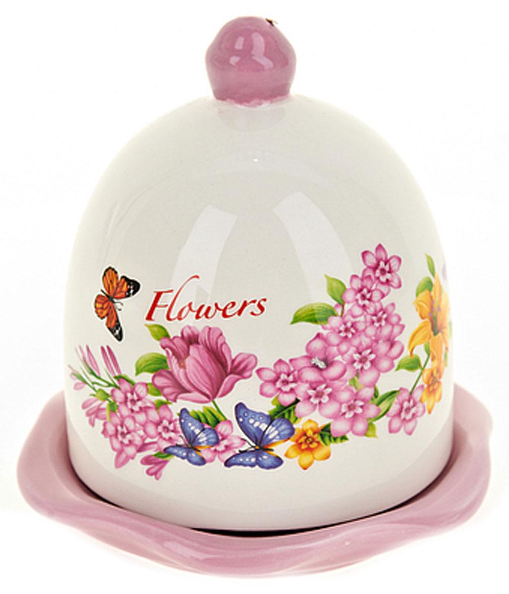Лимонница ENS Group Flowers-Loreto, 9 х 9 х 12 см. L2430639ПГЛ-007Лимонница Flowers- Loreto выполнена из высококачественной керамики и состоит из блюдца и крышки. Изделие украшено оригинальным узором. Лимонница Flowers- Lorento доставит истинное удовольствие ценителям прекрасного и поможет сохранить свежесть лимона на длительный срок. Яркий дизайн, несомненно, придется вам по вкусу. Не рекомендуется мыть в посудомоечной машине.