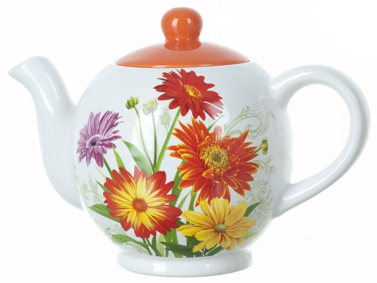 Чайник заварочный ENS Group Золотая Серена, 1,1 лVT-1520(SR)Заварочный чайник Золотая Серена, изготовленный из высококачественной керамики, прекрасно впишется в интерьер вашей кухни и станет достойным дополнением к кухонному инвентарю. Изделие снабжено эргономичной крышкой и удобной ручкой. Такой чайник не только украсит ваш кухонный стол и подчеркнет прекрасный вкус хозяйки, но и станет отличным подарком.Можно мыть в посудомоечной машине.
