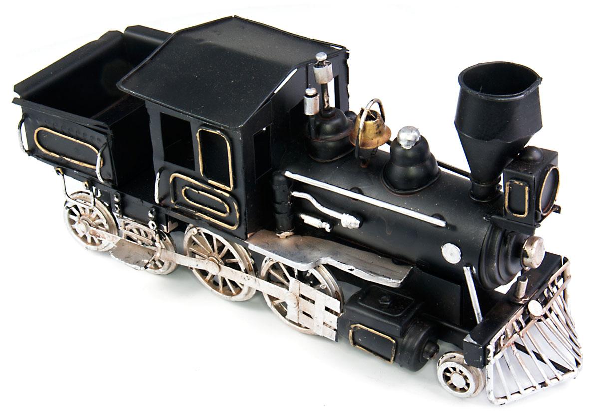 Модель Platinum Паровоз. 1510A-8376JP-45/ 5Модель Platinum Паровоз, выполненная из металла, станет оригинальным украшением интерьера. Вы можете поставить ретро-модель в любом месте, где она будет удачно смотреться.Качество исполнения, точные детали и оригинальный дизайн выделяют эту модель среди ряда подобных. Модель займет достойное место в вашей коллекции, а также приятно удивит получателя в качестве стильного сувенира.