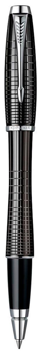 Parker Ручка-роллер Urban Premium Ebony Metal Chiselled72523WDРучка-роллер Parker Urban Premium Ebony Metal Chiselled - идеальный инструмент для письма. Материал ручки - ювелирная латунь с покрытием лаком черного цвета, в отделке применяется хромирование. В ручке используются стандартные стержни-роллеры Parker, в комплект поставки входит один стержень черного цвета. Данный пишущий инструмент поставляется в фирменной подарочной коробке, что делает его превосходным подарком. В комплекте также входит гарантийный талон с международной гарантией на 2 года. Произведено во Франции.
