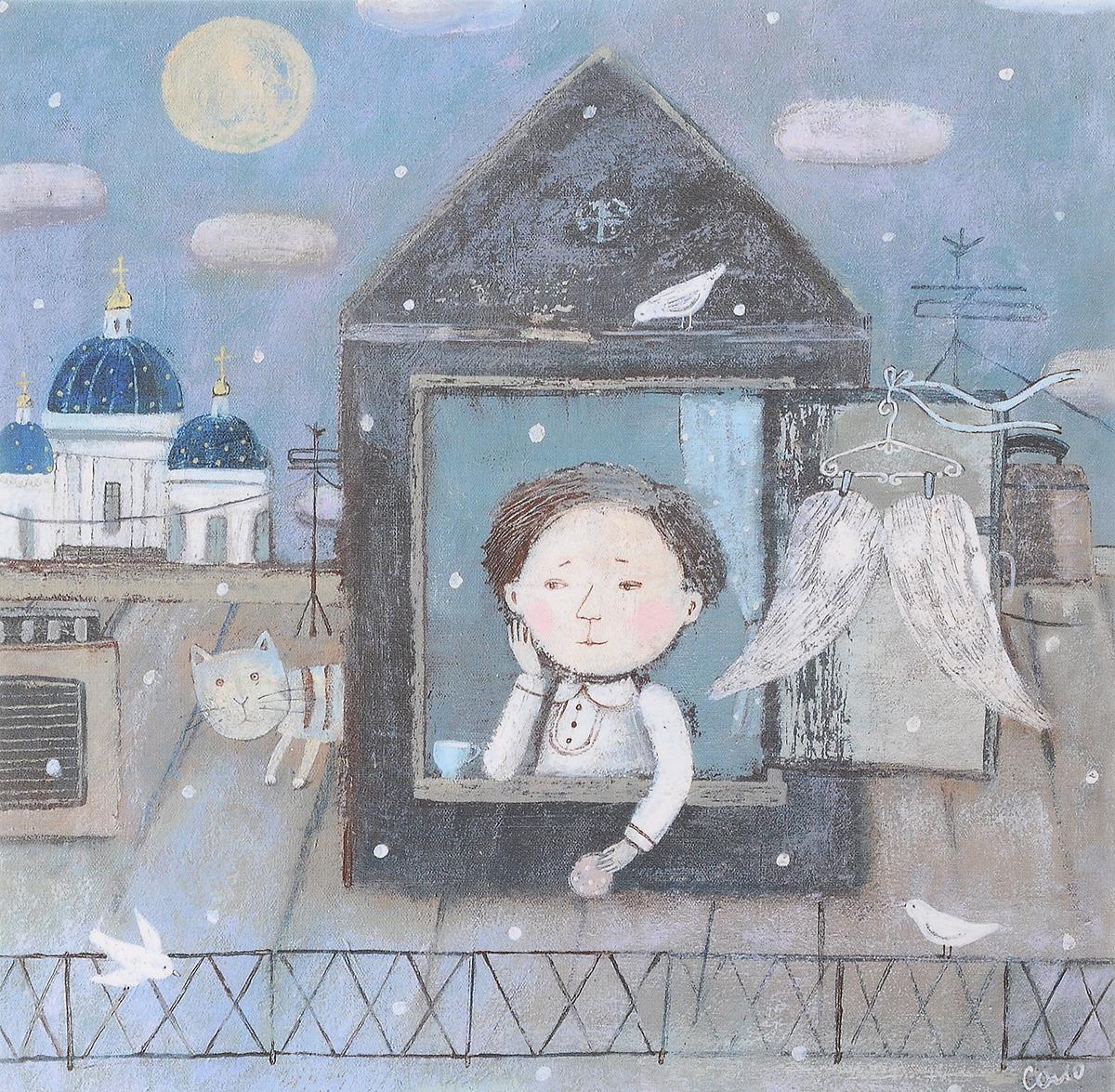 Открытка Кис-кис-кис. Автор: Соловьева Светлана открытка питерские пышечки автор светлана соловьева