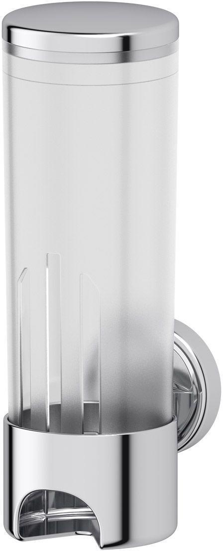 Контейнер для косметических дисков FBS Ellea, цвет: хром, белый. ELL 01919490100Аксессуары торговой марки FBS производятся на заводе ELLUX Gluck s.r.o., имеющем 20-летний опыт работы. Предприятие расположено в Злинском крае, исторически знаменитом своим промышленным потенциалом. Компоненты из всемирно известного богемского хрусталя выгодно дополняют серии аксессуаров. Широкий ассортимент, разнообразие форм, высочайшее качество исполнения и техническое?совершенство продукции отвечают самым высоким требованиям. Продукция FBS представлена на российском рынке уже более 10 лет и за это время успела завоевать заслуженную популярность у покупателей, отдающих предпочтение дорогой и качественной продукции.