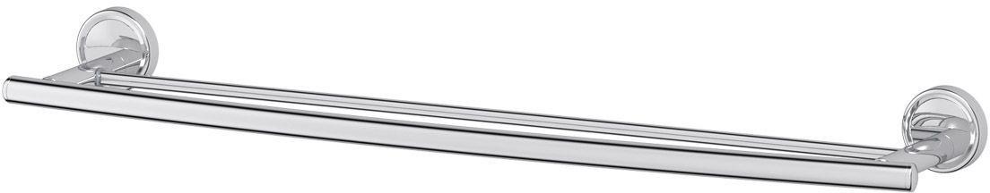 Штанга для полотенца FBS Ellea, двойная, 70 см, цвет: хром. ELL 038STA 028Аксессуары торговой марки FBS производятся на заводе ELLUX Gluck s.r.o., имеющем 20-летний опыт работы. Предприятие расположено в Злинском крае, исторически знаменитом своим промышленным потенциалом. Компоненты из всемирно известного богемского хрусталя выгодно дополняют серии аксессуаров. Широкий ассортимент, разнообразие форм, высочайшее качество исполнения и техническое?совершенство продукции отвечают самым высоким требованиям. Продукция FBS представлена на российском рынке уже более 10 лет и за это время успела завоевать заслуженную популярность у покупателей, отдающих предпочтение дорогой и качественной продукции.
