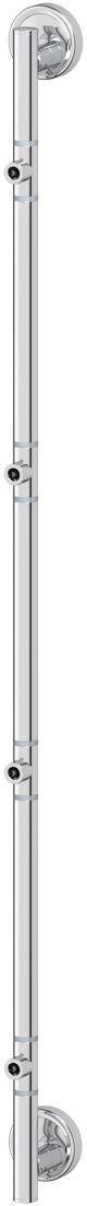 Штанга для полотенца FBS Ellea, для 4-х аксессуаров, 95 см, цвет: хром. ELL 076STA 036Аксессуары торговой марки FBS производятся на заводе ELLUX Gluck s.r.o., имеющем 20-летний опыт работы. Предприятие расположено в Злинском крае, исторически знаменитом своим промышленным потенциалом. Компоненты из всемирно известного богемского хрусталя выгодно дополняют серии аксессуаров. Широкий ассортимент, разнообразие форм, высочайшее качество исполнения и техническое?совершенство продукции отвечают самым высоким требованиям. Продукция FBS представлена на российском рынке уже более 10 лет и за это время успела завоевать заслуженную популярность у покупателей, отдающих предпочтение дорогой и качественной продукции.