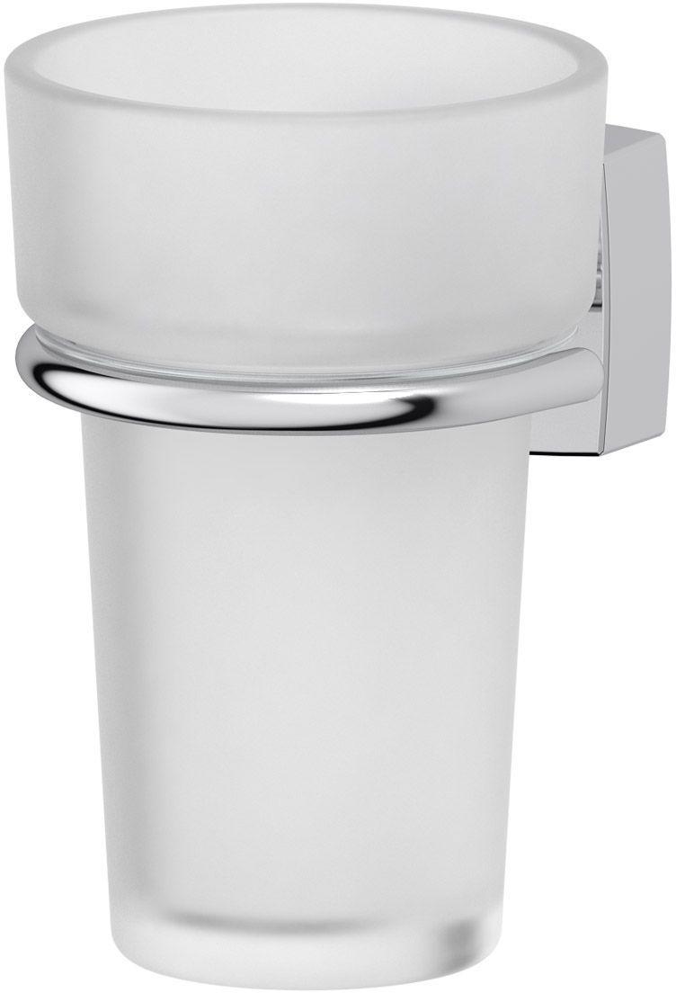 Держатель для зубных щеток со стаканом FBS Esperado. ESP 006М 2472_серый мраморДержатель FBS Esperado со стаканом изготовлен из высококачественной латуни и хрусталя. Изделие предназначено для хранения зубных щеток и зубной пасты. Держатель крепится к стене с помощью саморезов (входят в комплект).Аксессуары торговой марки FBS производятся на заводе ELLUX Gluck s.r.o., имеющем 20-летний опыт работы. Предприятие расположено в Злинском крае, исторически знаменитом своим промышленным потенциалом. Компоненты из всемирно известного богемского хрусталя выгодно дополняют серии аксессуаров. Широкий ассортимент, разнообразие форм, высочайшее качество исполнения и техническое совершенство продукции отвечают самым высоким требованиям. Продукция FBS представлена на российском рынке уже более 10 лет и за это время успела завоевать заслуженную популярность у покупателей, отдающих предпочтение дорогой и качественной продукции.