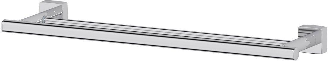 Штанга для полотенца FBS Esperado, двойная, 50 см, цвет: хром. ESP 036IND028bАксессуары торговой марки FBS производятся на заводе ELLUX Gluck s.r.o., имеющем 20-летний опыт работы. Предприятие расположено в Злинском крае, исторически знаменитом своим промышленным потенциалом. Компоненты из всемирно известного богемского хрусталя выгодно дополняют серии аксессуаров. Широкий ассортимент, разнообразие форм, высочайшее качество исполнения и техническое?совершенство продукции отвечают самым высоким требованиям. Продукция FBS представлена на российском рынке уже более 10 лет и за это время успела завоевать заслуженную популярность у покупателей, отдающих предпочтение дорогой и качественной продукции.