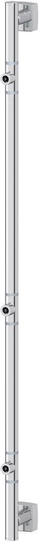 Штанга для полотенца FBS Esperado, для 3-х аксессуаров, 82 см, цвет: хром. ESP 075ESP 002Аксессуары торговой марки FBS производятся на заводе ELLUX Gluck s.r.o., имеющем 20-летний опыт работы. Предприятие расположено в Злинском крае, исторически знаменитом своим промышленным потенциалом. Компоненты из всемирно известного богемского хрусталя выгодно дополняют серии аксессуаров. Широкий ассортимент, разнообразие форм, высочайшее качество исполнения и техническое?совершенство продукции отвечают самым высоким требованиям. Продукция FBS представлена на российском рынке уже более 10 лет и за это время успела завоевать заслуженную популярность у покупателей, отдающих предпочтение дорогой и качественной продукции.