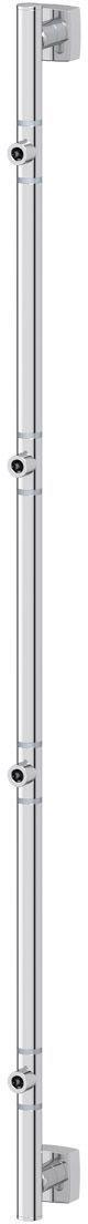 Штанга для полотенца FBS Esperado, для 4-х аксессуаров, 95 см, цвет: хром. ESP 076PH6480Аксессуары торговой марки FBS производятся на заводе ELLUX Gluck s.r.o., имеющем 20-летний опыт работы. Предприятие расположено в Злинском крае, исторически знаменитом своим промышленным потенциалом. Компоненты из всемирно известного богемского хрусталя выгодно дополняют серии аксессуаров. Широкий ассортимент, разнообразие форм, высочайшее качество исполнения и техническое?совершенство продукции отвечают самым высоким требованиям. Продукция FBS представлена на российском рынке уже более 10 лет и за это время успела завоевать заслуженную популярность у покупателей, отдающих предпочтение дорогой и качественной продукции.