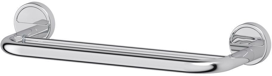 Штанга для полотенца FBS Luxia, двойная, 40 см, цвет: хром. LUX 03519610100Аксессуары торговой марки FBS производятся на заводе ELLUX Gluck s.r.o., имеющем 20-летний опыт работы. Предприятие расположено в Злинском крае, исторически знаменитом своим промышленным потенциалом. Компоненты из всемирно известного богемского хрусталя выгодно дополняют серии аксессуаров. Широкий ассортимент, разнообразие форм, высочайшее качество исполнения и техническое?совершенство продукции отвечают самым высоким требованиям. Продукция FBS представлена на российском рынке уже более 10 лет и за это время успела завоевать заслуженную популярность у покупателей, отдающих предпочтение дорогой и качественной продукции.
