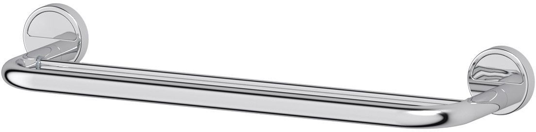 Штанга для полотенца FBS Luxia, двойная, 50 см, цвет: хром. LUX 0367005Аксессуары торговой марки FBS производятся на заводе ELLUX Gluck s.r.o., имеющем 20-летний опыт работы. Предприятие расположено в Злинском крае, исторически знаменитом своим промышленным потенциалом. Компоненты из всемирно известного богемского хрусталя выгодно дополняют серии аксессуаров. Широкий ассортимент, разнообразие форм, высочайшее качество исполнения и техническое?совершенство продукции отвечают самым высоким требованиям. Продукция FBS представлена на российском рынке уже более 10 лет и за это время успела завоевать заслуженную популярность у покупателей, отдающих предпочтение дорогой и качественной продукции.