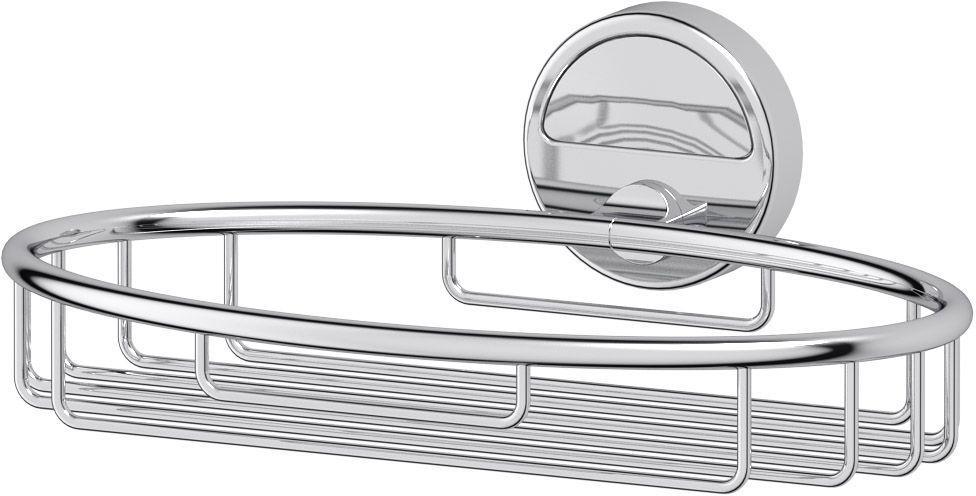 Полка-решетка для ванной FBS Luxia, цвет: хром, 22 х 15,5 х 7,6 см. LUX 04812010100Настенная полка-решетка FBS Luxia изготовлена из латуни с качественным хромированным покрытием, котороенадолго защитит его от ржавчины в условиях высокой влажности в ваннойкомнате. Стильная и функциональная полка овальной формы украсит и дополнит интерьер вашей ванной комнаты. Размер: 22 х 15,5 х 7,6 см.Аксессуары торговой марки FBS производятся на заводе ELLUX Gluck s.r.o., имеющем 20-летний опыт работы. Предприятие расположено в Злинском крае, исторически знаменитом своим промышленным потенциалом. Компоненты из всемирно известного богемского хрусталя выгодно дополняют серии аксессуаров. Широкий ассортимент, разнообразие форм, высочайшее качество исполнения и техническое совершенство продукции отвечают самым высоким требованиям. Продукция FBS представлена на российском рынке уже более 10 лет и за это время успела завоевать заслуженную популярность у покупателей, отдающих предпочтение дорогой и качественной продукции.