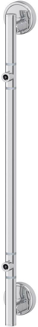 Штанга для 2-х аксессуаров FBS Luxia, 58 см, цвет: хром. LUX 074ELL 037Аксессуары торговой марки FBS производятся на заводе ELLUX Gluck s.r.o., имеющем 20-летний опыт работы. Предприятие расположено в Злинском крае, исторически знаменитом своим промышленным потенциалом. Компоненты из всемирно известного богемского хрусталя выгодно дополняют серии аксессуаров. Широкий ассортимент, разнообразие форм, высочайшее качество исполнения и техническое?совершенство продукции отвечают самым высоким требованиям. Продукция FBS представлена на российском рынке уже более 10 лет и за это время успела завоевать заслуженную популярность у покупателей, отдающих предпочтение дорогой и качественной продукции.
