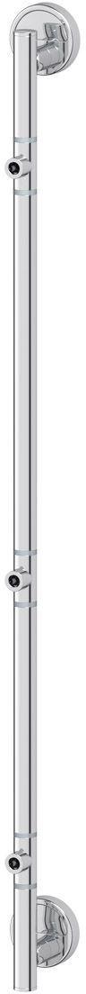 Штанга для 3-х аксессуаров FBS Luxia, 82 см, цвет: хром. LUX 075IND038bАксессуары торговой марки FBS производятся на заводе ELLUX Gluck s.r.o., имеющем 20-летний опыт работы. Предприятие расположено в Злинском крае, исторически знаменитом своим промышленным потенциалом. Компоненты из всемирно известного богемского хрусталя выгодно дополняют серии аксессуаров. Широкий ассортимент, разнообразие форм, высочайшее качество исполнения и техническое?совершенство продукции отвечают самым высоким требованиям. Продукция FBS представлена на российском рынке уже более 10 лет и за это время успела завоевать заслуженную популярность у покупателей, отдающих предпочтение дорогой и качественной продукции.