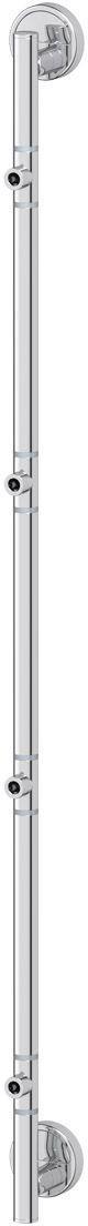 Штанга для 4-х аксессуаров FBS Luxia, 95 см, цвет: хром. LUX 076ESP 022Аксессуары торговой марки FBS производятся на заводе ELLUX Gluck s.r.o., имеющем 20-летний опыт работы. Предприятие расположено в Злинском крае, исторически знаменитом своим промышленным потенциалом. Компоненты из всемирно известного богемского хрусталя выгодно дополняют серии аксессуаров. Широкий ассортимент, разнообразие форм, высочайшее качество исполнения и техническое?совершенство продукции отвечают самым высоким требованиям. Продукция FBS представлена на российском рынке уже более 10 лет и за это время успела завоевать заслуженную популярность у покупателей, отдающих предпочтение дорогой и качественной продукции.