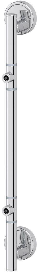 Штанга для 2-х аксессуаров FBS Luxia, 47 см, цвет: хром. LUX 077PH6527Аксессуары торговой марки FBS производятся на заводе ELLUX Gluck s.r.o., имеющем 20-летний опыт работы. Предприятие расположено в Злинском крае, исторически знаменитом своим промышленным потенциалом. Компоненты из всемирно известного богемского хрусталя выгодно дополняют серии аксессуаров. Широкий ассортимент, разнообразие форм, высочайшее качество исполнения и техническое?совершенство продукции отвечают самым высоким требованиям. Продукция FBS представлена на российском рынке уже более 10 лет и за это время успела завоевать заслуженную популярность у покупателей, отдающих предпочтение дорогой и качественной продукции.