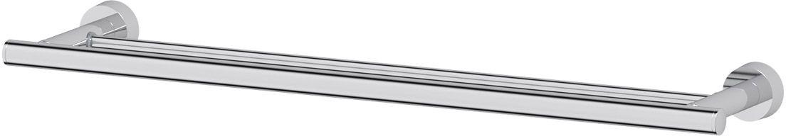 Штанга для полотенца FBS Nostalgy, двойная, 60 см, цвет: хром. NOS 0378973Аксессуары торговой марки FBS производятся на заводе ELLUX Gluck s.r.o., имеющем 20-летний опыт работы. Предприятие расположено в Злинском крае, исторически знаменитом своим промышленным потенциалом. Компоненты из всемирно известного богемского хрусталя выгодно дополняют серии аксессуаров. Широкий ассортимент, разнообразие форм, высочайшее качество исполнения и техническое?совершенство продукции отвечают самым высоким требованиям. Продукция FBS представлена на российском рынке уже более 10 лет и за это время успела завоевать заслуженную популярность у покупателей, отдающих предпочтение дорогой и качественной продукции.