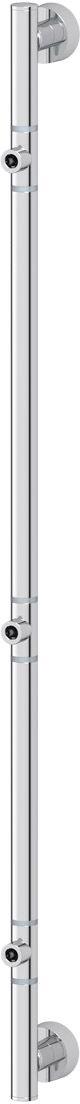Штанга для полотенца FBS Nostalgy, для 3-х аксессуаров, 82 см, цвет: хром. NOS 075PH6523Аксессуары торговой марки FBS производятся на заводе ELLUX Gluck s.r.o., имеющем 20-летний опыт работы. Предприятие расположено в Злинском крае, исторически знаменитом своим промышленным потенциалом. Компоненты из всемирно известного богемского хрусталя выгодно дополняют серии аксессуаров. Широкий ассортимент, разнообразие форм, высочайшее качество исполнения и техническое?совершенство продукции отвечают самым высоким требованиям. Продукция FBS представлена на российском рынке уже более 10 лет и за это время успела завоевать заслуженную популярность у покупателей, отдающих предпочтение дорогой и качественной продукции.