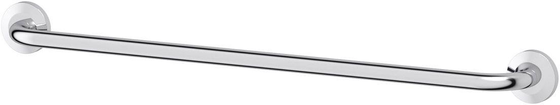 Штанга для полотенца FBS Standard, 70 см, цвет: хром. STA 033IND038bАксессуары торговой марки FBS производятся на заводе ELLUX Gluck s.r.o., имеющем 20-летний опыт работы. Предприятие расположено в Злинском крае, исторически знаменитом своим промышленным потенциалом. Компоненты из всемирно известного богемского хрусталя выгодно дополняют серии аксессуаров. Широкий ассортимент, разнообразие форм, высочайшее качество исполнения и техническое?совершенство продукции отвечают самым высоким требованиям. Продукция FBS представлена на российском рынке уже более 10 лет и за это время успела завоевать заслуженную популярность у покупателей, отдающих предпочтение дорогой и качественной продукции.