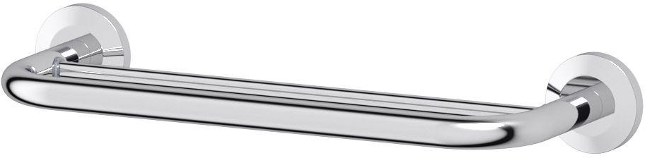 Штанга для полотенца FBS Standard, двойная, 40 см, цвет: хром. STA 035LUX 047Аксессуары торговой марки FBS производятся на заводе ELLUX Gluck s.r.o., имеющем 20-летний опыт работы. Предприятие расположено в Злинском крае, исторически знаменитом своим промышленным потенциалом. Компоненты из всемирно известного богемского хрусталя выгодно дополняют серии аксессуаров. Широкий ассортимент, разнообразие форм, высочайшее качество исполнения и техническое?совершенство продукции отвечают самым высоким требованиям. Продукция FBS представлена на российском рынке уже более 10 лет и за это время успела завоевать заслуженную популярность у покупателей, отдающих предпочтение дорогой и качественной продукции.