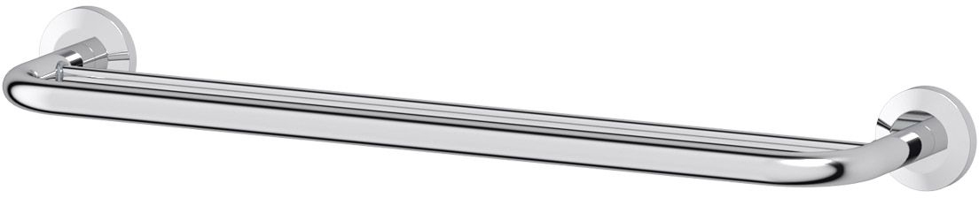 Штанга для полотенца FBS Standard, двойная, 60 см, цвет: хром. STA 037HAR 001Аксессуары торговой марки FBS производятся на заводе ELLUX Gluck s.r.o., имеющем 20-летний опыт работы. Предприятие расположено в Злинском крае, исторически знаменитом своим промышленным потенциалом. Компоненты из всемирно известного богемского хрусталя выгодно дополняют серии аксессуаров. Широкий ассортимент, разнообразие форм, высочайшее качество исполнения и техническое?совершенство продукции отвечают самым высоким требованиям. Продукция FBS представлена на российском рынке уже более 10 лет и за это время успела завоевать заслуженную популярность у покупателей, отдающих предпочтение дорогой и качественной продукции.
