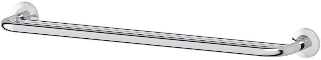 Штанга для полотенца FBS Standard, двойная, 70 см, цвет: хром. STA 038VIZ 027Аксессуары торговой марки FBS производятся на заводе ELLUX Gluck s.r.o., имеющем 20-летний опыт работы. Предприятие расположено в Злинском крае, исторически знаменитом своим промышленным потенциалом. Компоненты из всемирно известного богемского хрусталя выгодно дополняют серии аксессуаров. Широкий ассортимент, разнообразие форм, высочайшее качество исполнения и техническое?совершенство продукции отвечают самым высоким требованиям. Продукция FBS представлена на российском рынке уже более 10 лет и за это время успела завоевать заслуженную популярность у покупателей, отдающих предпочтение дорогой и качественной продукции.