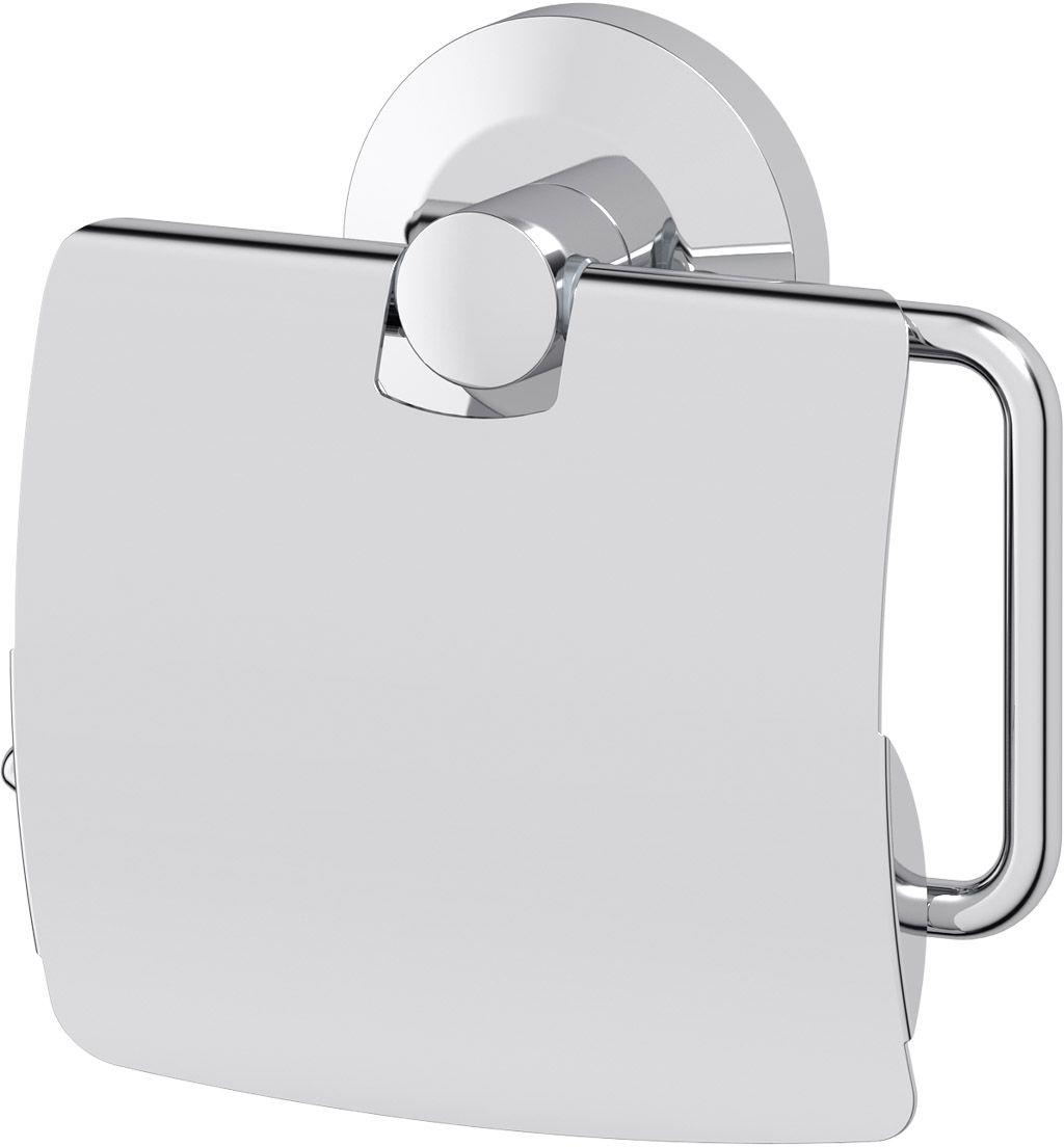 Держатель туалетной бумаги с крышкой FBS Standard, цвет: хром. STA 055PH6533Аксессуары торговой марки FBS производятся на заводе ELLUX Gluck s.r.o., имеющем 20-летний опыт работы. Предприятие расположено в Злинском крае, исторически знаменитом своим промышленным потенциалом. Компоненты из всемирно известного богемского хрусталя выгодно дополняют серии аксессуаров. Широкий ассортимент, разнообразие форм, высочайшее качество исполнения и техническое?совершенство продукции отвечают самым высоким требованиям. Продукция FBS представлена на российском рынке уже более 10 лет и за это время успела завоевать заслуженную популярность у покупателей, отдающих предпочтение дорогой и качественной продукции.