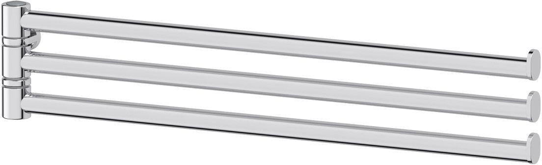 Держатель для полотенец FBS Universal, поворотный, тройной, 35 см. UNI 037UNI 037Держатель для полотенец FBS Universal изготовлен из высококачественнойхромированной латуни. Тройной поворотный держатель позволит компактно разместить полотенца в ванной комнате. Изделие крепится к стене при помощи шурупа.Классический дизайн подойдет для любого интерьера ванной комнаты. Длина держателя: 35 см. Аксессуары торговой марки FBS производятся на заводе ELLUX Gluck s.r.o., имеющем 20-летний опыт работы. Предприятие расположено в Злинском крае, исторически знаменитом своим промышленным потенциалом. Компоненты из всемирно известного богемского хрусталя выгодно дополняют серии аксессуаров. Широкий ассортимент, разнообразие форм, высочайшее качество исполнения и техническоесовершенство продукции отвечают самым высоким требованиям. Продукция FBS представлена на российском рынке уже более 10 лет и за это время успела завоевать заслуженную популярность у покупателей, отдающих предпочтение дорогой и качественной продукции.