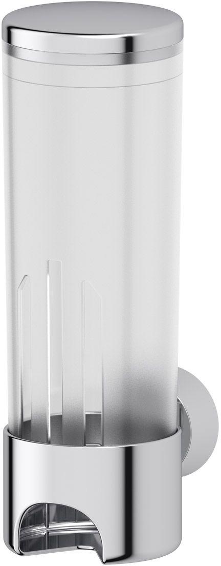 Контейнер для косметических дисков FBS Vizovice, цвет: хром, белый. VIZ 0197172Аксессуары торговой марки FBS производятся на заводе ELLUX Gluck s.r.o., имеющем 20-летний опыт работы. Предприятие расположено в Злинском крае, исторически знаменитом своим промышленным потенциалом. Компоненты из всемирно известного богемского хрусталя выгодно дополняют серии аксессуаров. Широкий ассортимент, разнообразие форм, высочайшее качество исполнения и техническое?совершенство продукции отвечают самым высоким требованиям. Продукция FBS представлена на российском рынке уже более 10 лет и за это время успела завоевать заслуженную популярность у покупателей, отдающих предпочтение дорогой и качественной продукции.