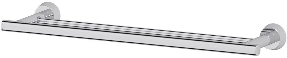 Штанга для полотенца FBS Vizovice, двойная, 50 см, цвет: хром. VIZ 036126768Аксессуары торговой марки FBS производятся на заводе ELLUX Gluck s.r.o., имеющем 20-летний опыт работы. Предприятие расположено в Злинском крае, исторически знаменитом своим промышленным потенциалом. Компоненты из всемирно известного богемского хрусталя выгодно дополняют серии аксессуаров. Широкий ассортимент, разнообразие форм, высочайшее качество исполнения и техническое?совершенство продукции отвечают самым высоким требованиям. Продукция FBS представлена на российском рынке уже более 10 лет и за это время успела завоевать заслуженную популярность у покупателей, отдающих предпочтение дорогой и качественной продукции.