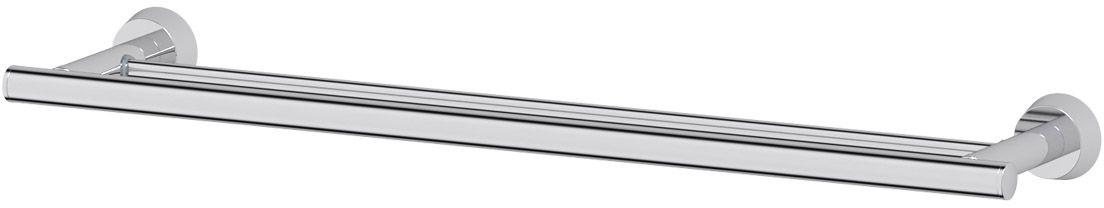 Штанга для полотенца FBS Vizovice, двойная, 60 см, цвет: хром. VIZ 037ELL 037Аксессуары торговой марки FBS производятся на заводе ELLUX Gluck s.r.o., имеющем 20-летний опыт работы. Предприятие расположено в Злинском крае, исторически знаменитом своим промышленным потенциалом. Компоненты из всемирно известного богемского хрусталя выгодно дополняют серии аксессуаров. Широкий ассортимент, разнообразие форм, высочайшее качество исполнения и техническое?совершенство продукции отвечают самым высоким требованиям. Продукция FBS представлена на российском рынке уже более 10 лет и за это время успела завоевать заслуженную популярность у покупателей, отдающих предпочтение дорогой и качественной продукции.