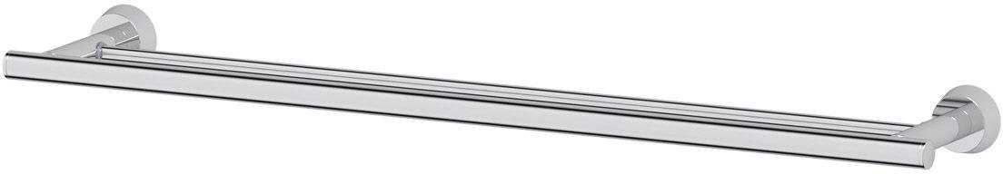 Штанга для полотенца FBS Vizovice, двойная, 70 см, цвет: хром. VIZ 038VIZ 027Аксессуары торговой марки FBS производятся на заводе ELLUX Gluck s.r.o., имеющем 20-летний опыт работы. Предприятие расположено в Злинском крае, исторически знаменитом своим промышленным потенциалом. Компоненты из всемирно известного богемского хрусталя выгодно дополняют серии аксессуаров. Широкий ассортимент, разнообразие форм, высочайшее качество исполнения и техническое?совершенство продукции отвечают самым высоким требованиям. Продукция FBS представлена на российском рынке уже более 10 лет и за это время успела завоевать заслуженную популярность у покупателей, отдающих предпочтение дорогой и качественной продукции.