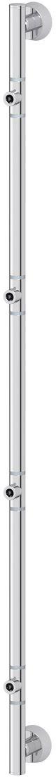 Штанга для полотенца FBS Vizovice, для 4-х аксессуаров, 95 см, цвет: хром. VIZ 076PH6477Аксессуары торговой марки FBS производятся на заводе ELLUX Gluck s.r.o., имеющем 20-летний опыт работы. Предприятие расположено в Злинском крае, исторически знаменитом своим промышленным потенциалом. Компоненты из всемирно известного богемского хрусталя выгодно дополняют серии аксессуаров. Широкий ассортимент, разнообразие форм, высочайшее качество исполнения и техническое?совершенство продукции отвечают самым высоким требованиям. Продукция FBS представлена на российском рынке уже более 10 лет и за это время успела завоевать заслуженную популярность у покупателей, отдающих предпочтение дорогой и качественной продукции.