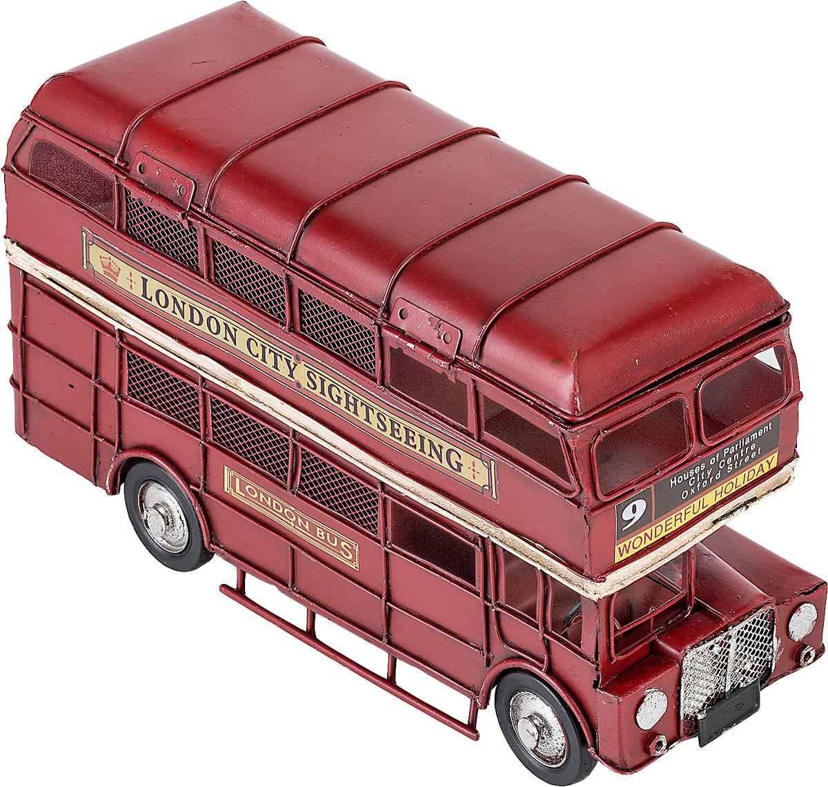 Модель Platinum Лондонский автобус, с 2 фоторамками и копилкой. 1310E-4107JP-29/17Модель Platinum Лондонский автобус, выполненная из металла, станет оригинальным украшением интерьера. Вы можете поставить ретро-модель в любом месте, где она будет удачно смотреться.Изделие дополнено копилкой и двумя фоторамками, куда вы можете вставить ваши любимые фотографии.Качество исполнения, точные детали и оригинальный дизайн выделяют эту модель среди ряда подобных. Модель займет достойное место в вашей коллекции, а также приятно удивит получателя в качестве стильного сувенира.
