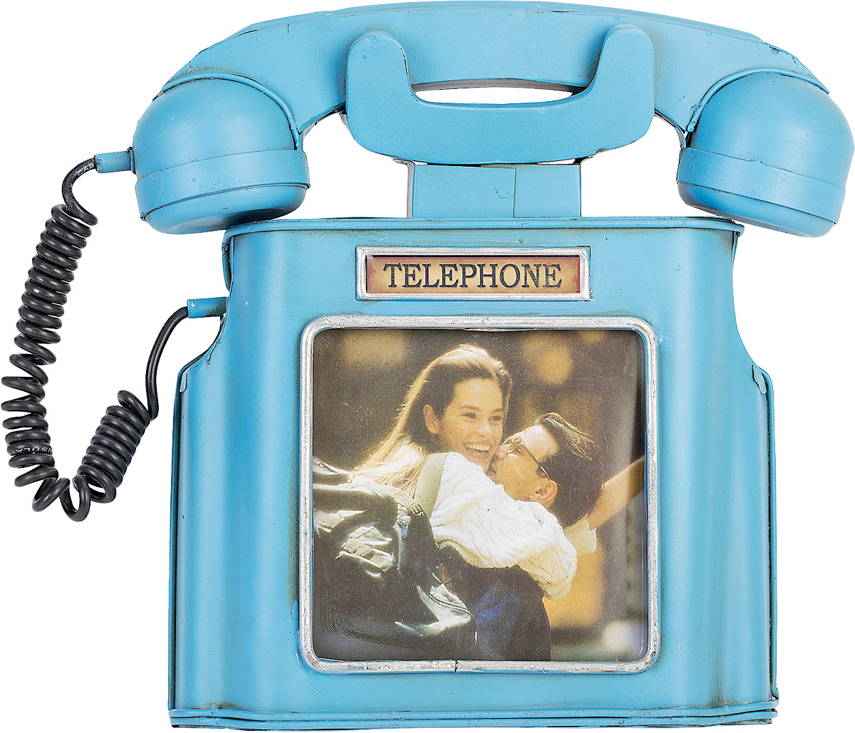 Фоторамка Platinum Телефон, 10 х 10 см46450 AP202328SAФоторамка Platinum Телефон выполнена в классическом стиле из высококачественного металла. Такая фоторамка поможет вам оригинально и стильно дополнить интерьер помещения, а также позволит сохранить память о дорогих вам людях и интересных событиях вашей жизни.