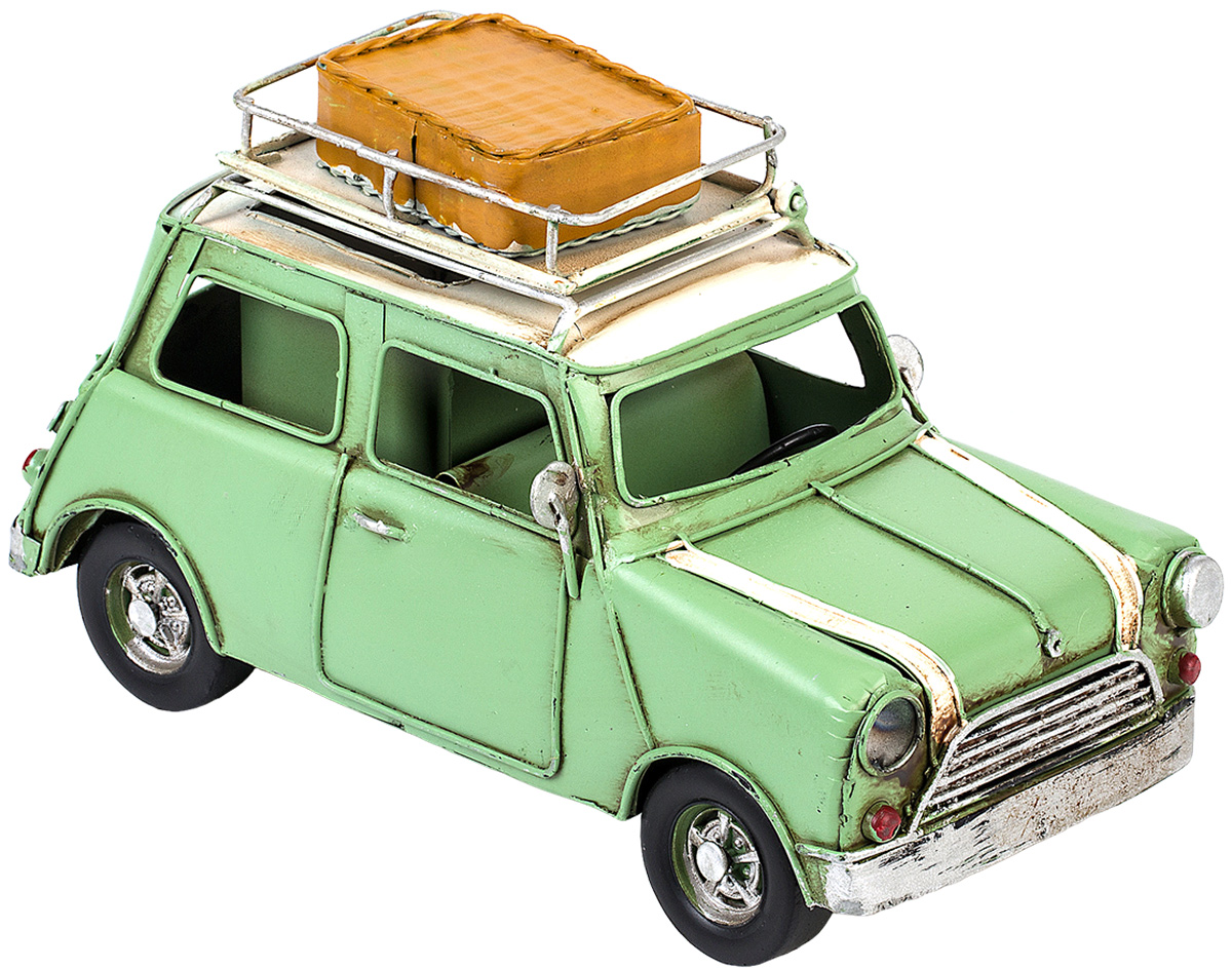 Модель Platinum Автомобиль, с фоторамкой и подставкой для ручек. 1404E-4357PH6594Модель Platinum Автомобиль, выполненная из металла, станет оригинальным украшением интерьера. Вы можете поставить модель ретро-автомобиля в любом месте, где она будет удачно смотреться.Изделие дополнено подставкой для ручек и фоторамкой, куда вы можете вставить вашу любимую фотографию.Качество исполнения, точные детали и оригинальный дизайн выделяют эту модель среди ряда подобных. Модель займет достойное место в вашей коллекции, а также приятно удивит получателя в качестве стильного сувенира.