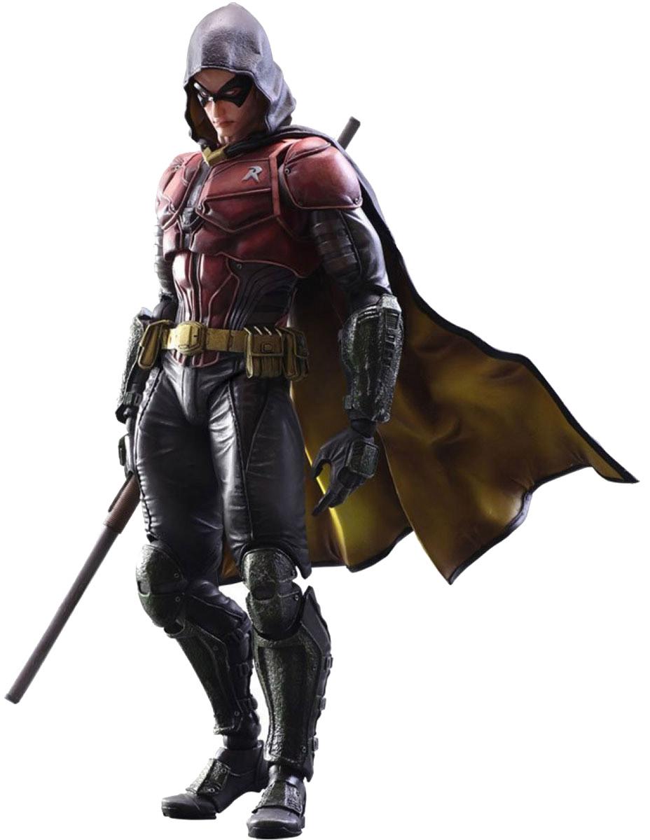 Batman Arkham Knight. Фигурка Play Arts Kai Robin 27 см singlesale robin with cloak batman arkham knight dc super heroes minifigures assemble model building blocks kids toys gift