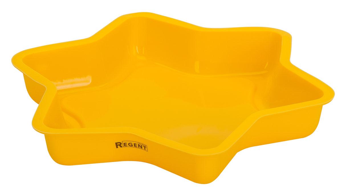 Форма для выпечки Regent Inox Silicone, 25 х 4,5 см93-SI-FO-109Форма для выпечки Regent Inox Silicone выполнена из силикона и предназначена для изготовления выпечки, желе. Силиконовые формы выдерживают высокие и низкие температуры (от -40°С до +230°С). Они эластичны, износостойки, легко моются, не горят и не тлеют, не впитывают запахи, не оставляют пятен. Силикон абсолютно безвреден для здоровья.Не используйте моющие средства, содержащие абразивы. Можно мыть в посудомоечной машине. Подходит для использования в духовом шкафу и заморозки.Общий размер формы: 25 х 4,5 см.