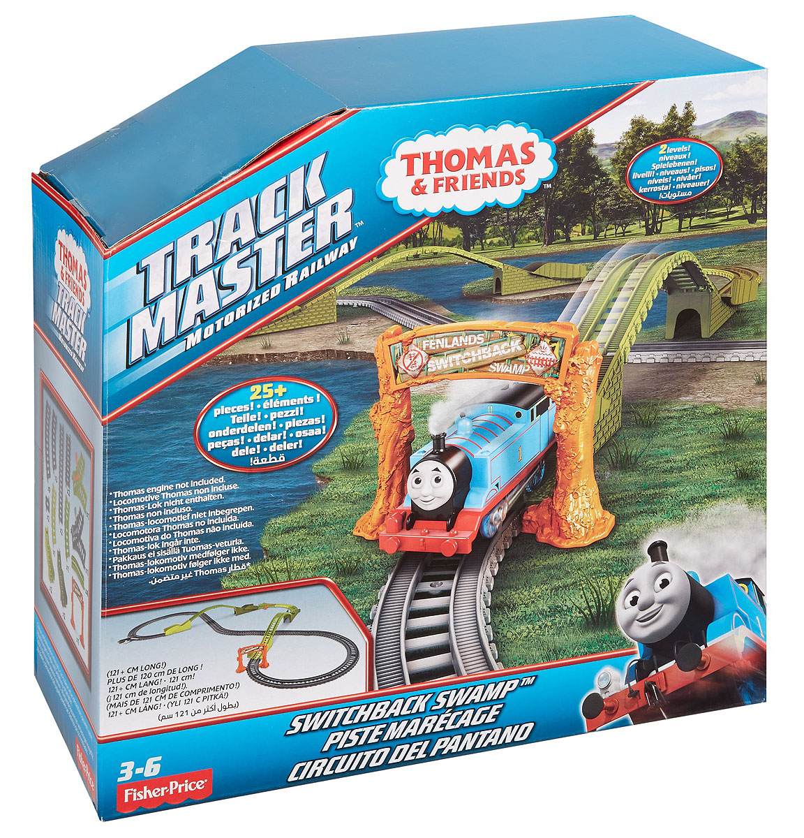 Thomas & Friends Железная дорога Switchback Swamp - Железные дороги