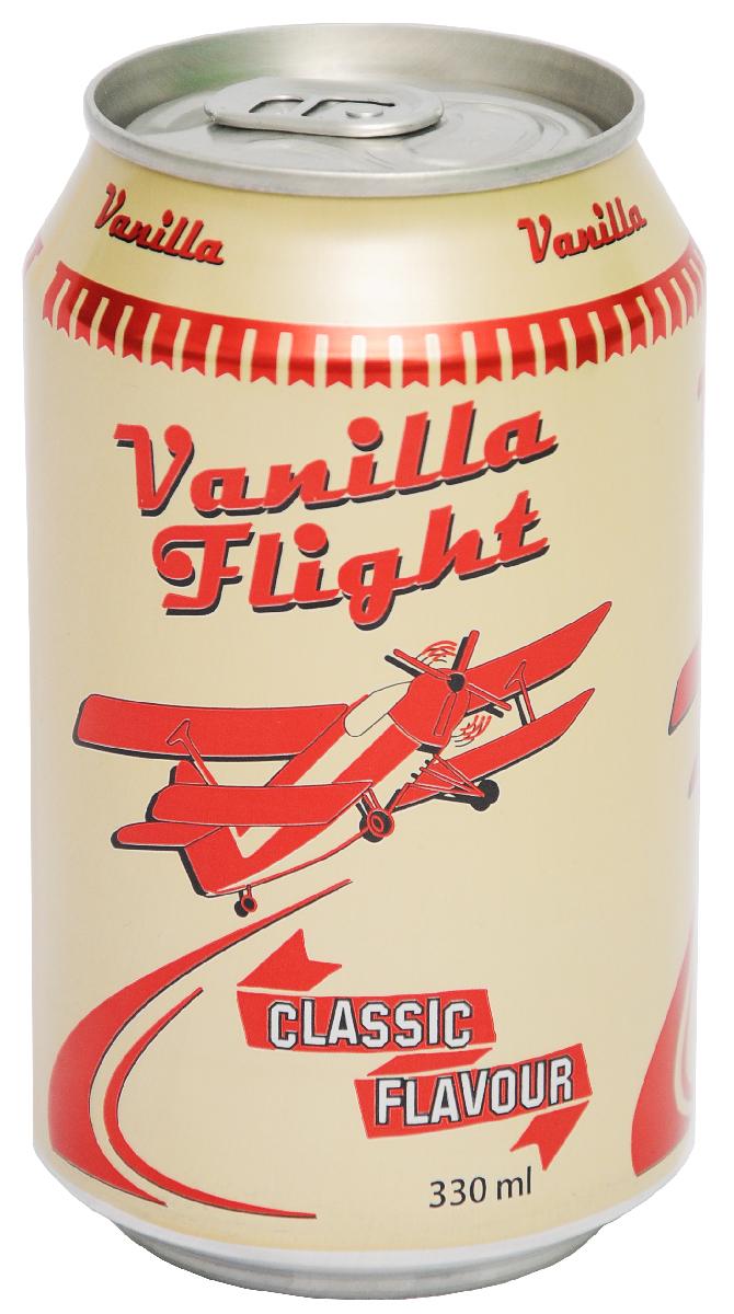 Vanilla Flight Classic Flavour Напиток безалкогольный, 0,33 л0120710Линейка Vanilla Flight представлена в двух вкусах, которые идеально дополняют друг друга. Vanilla Flight Classic Flavour – это классическая ванильная содовая с ярким ароматом и вкусом.