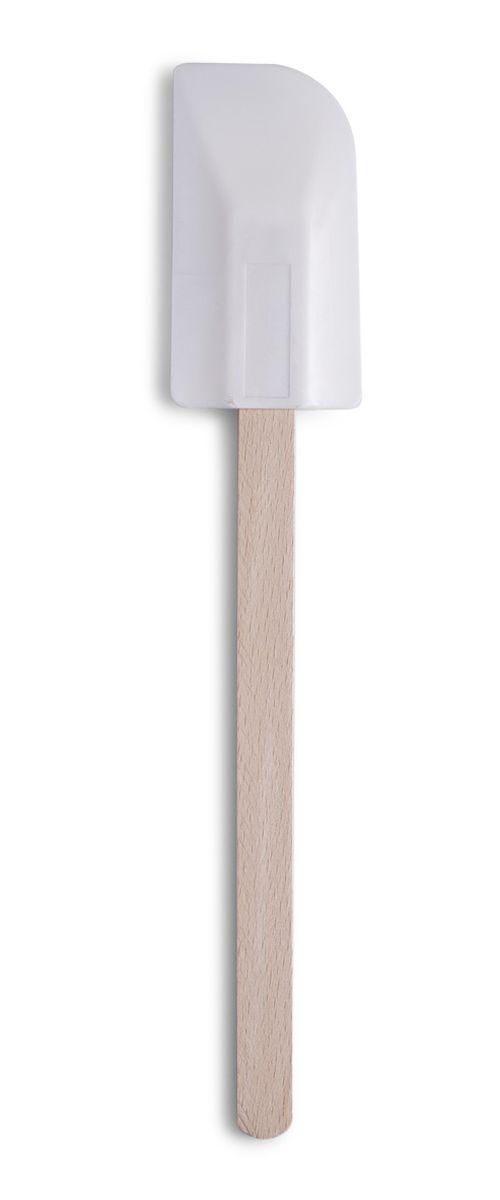 Лопатка кулинарная Zeller, длина 30 см. 2350523505Кулинарная лопатка Zeller изготовлена из дерева. Лопатка не царапает поверхность посуды и не проводит тепло, что делает ее идеальной для перемешивания горячих продуктов. Удобная ручка не позволит выскользнуть лопатке из вашей руки. Рабочая поверхность лопатки имеет отверстие. Практичная и удобная лопатка Zeller займет достойное место среди аксессуаров на вашей кухне.Длина лопатки: 30 см.