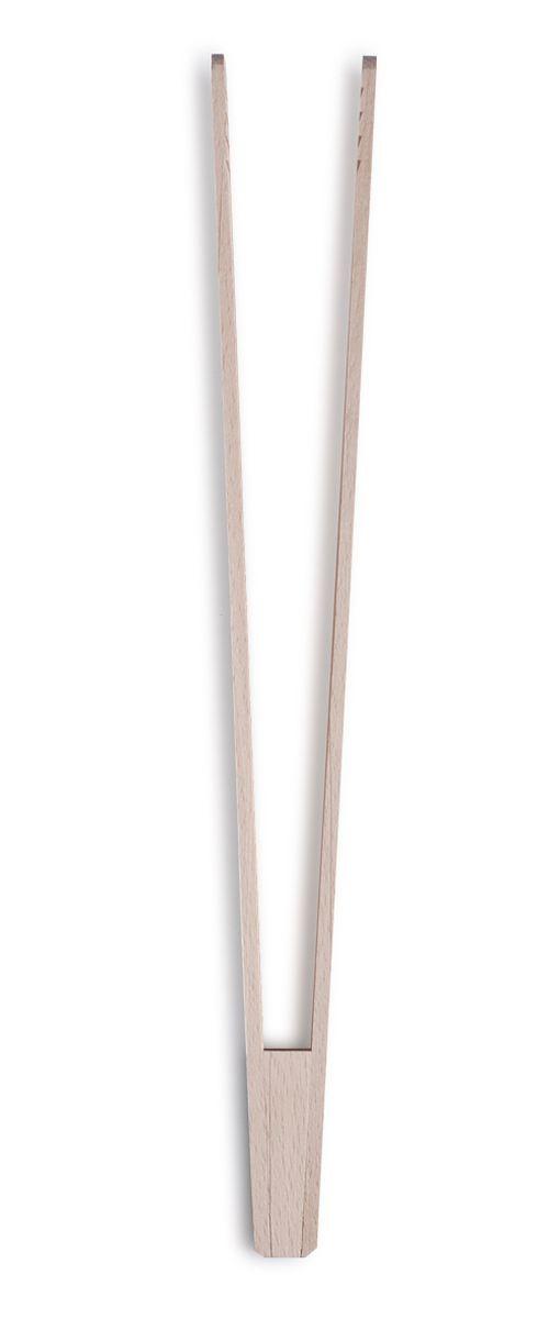 Щипцы кулинарные Zeller, длина 30 см. 23510115610Кулинарные щипцы Zeller, выполненные из дерева, предназначены для комфортных манипуляций с приготавливаемым продуктом. Такими щипцами удобно переворачивать мясо, тефтели, колбаски, рулеты и другие продукты во время приготовления.Длина щипцов: 30 см.