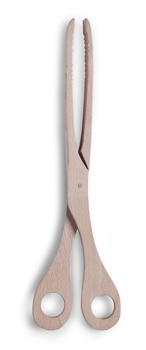 Щипцы кулинарные Zeller, длина 30 см. 23513115510Кулинарные щипцы Zeller, выполненные из дерева в форме ножниц, предназначены для комфортных манипуляций с приготавливаемым продуктом. Такими щипцами удобно переворачивать мясо, тефтели, колбаски, рулеты и другие продукты во время приготовления.Длина щипцов: 30 см.