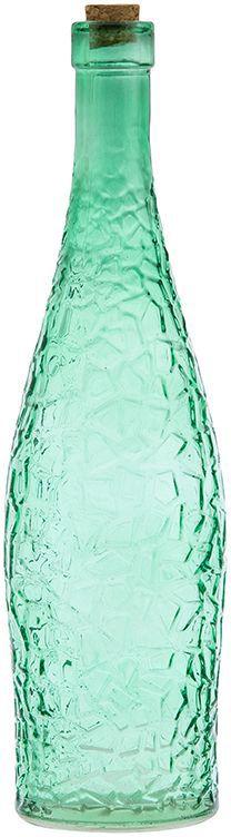 Бутылка для масла и уксуса Elan Gallery, цвет: изумрудный, 700 млFA-5125 WhiteСтильная бутылка для жидкостей. Подойдет для хранения масел, соусов или уксуса. Эффектно впишется в любой интерьер. Размер бутылки: 8 х 8 х 30 см. Объем бутылки: 700 мл.