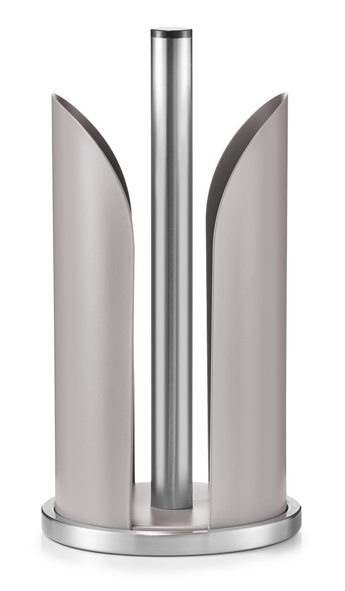 Держатель для бумажных полотенец Zeller, цвет: серо-коричневый, стальной, высота 30,5 см3108Держатель для бумажных полотенец Zeller изготовлен из высококачественного металла. Круглое основание держателя гарантирует устойчивость. Рулоны накладываются сверху. Вы можете установить его в любом удобном месте. Такой держатель станет полезным аксессуаром в домашнем быту и идеально впишется в интерьер современной кухни. Рулон в комплект не входит.Высота держателя: 30,5 см.Диаметр основания: 15 см.