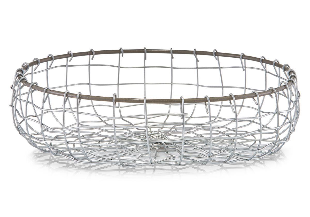 Ваза для фруктов Zeller, диаметр 30,5 см115610Ваза для фруктов Zeller изготовлена из высококачественного хромированного металла. Она впечатляет своим дизайном, качеством и оригинальным исполнением. Прекрасный вариант подарка человеку, ценящему изысканные вещи. Такая ваза достойна стать украшением даже самого богатого застолья.