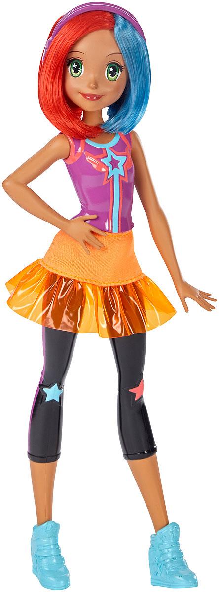 Barbie Кукла Барби Виртуальный мир цвет одежды фиолетовый оранжевый barbie barbie шлепанцы со светодиодами для девочки фиолетовые