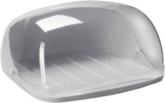 Хлебница Idea, цвет: серый, прозрачный, 36 х 27,5 х 16FA-5125 WhiteХлебница Idea изготовлена из пищевого пластика и оснащена прозрачной открывающейся крышкой. Вместительность, функциональность и стильный дизайн позволят хлебнице стать не только незаменимым предметом на кухне, но и стать дополнением интерьера. Хлебница сохранит хлеб свежим и вкусным.