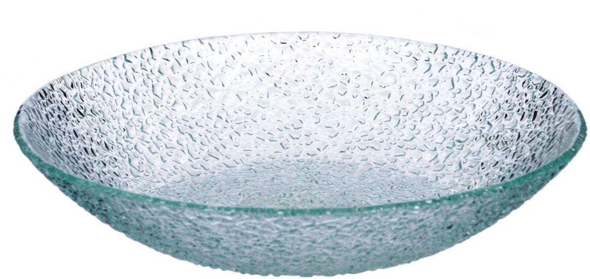 Салатник Арт Дон Хрусталик, диаметр 20 см115510Посуду в бесцветном варианте и в бронзе можно мыть в ПММ. Допускается использование в СВЧ. Рекомендуется избегать любого механического воздействия на стекло во избежание его крушения. Узорчатое стекло изготавливается методом его нагрева и проката по твердому основанию, которое имеет заданный рельеф. При остывании такого стекла получается изделие, наделенное рельефным узором. Для такой обработки подходит окрашенное в массе, осветленное или обыкновенное стекло. На выходе мы получаем безопасную посуду из моллированного (изогнутого) узорчатого стекла, которая имеет рифленую поверхность снаружи и гладкую внутри. Наличие множества граней преломляет свет, из-за чего посуда выглядит ярко, необычно, оригинально.